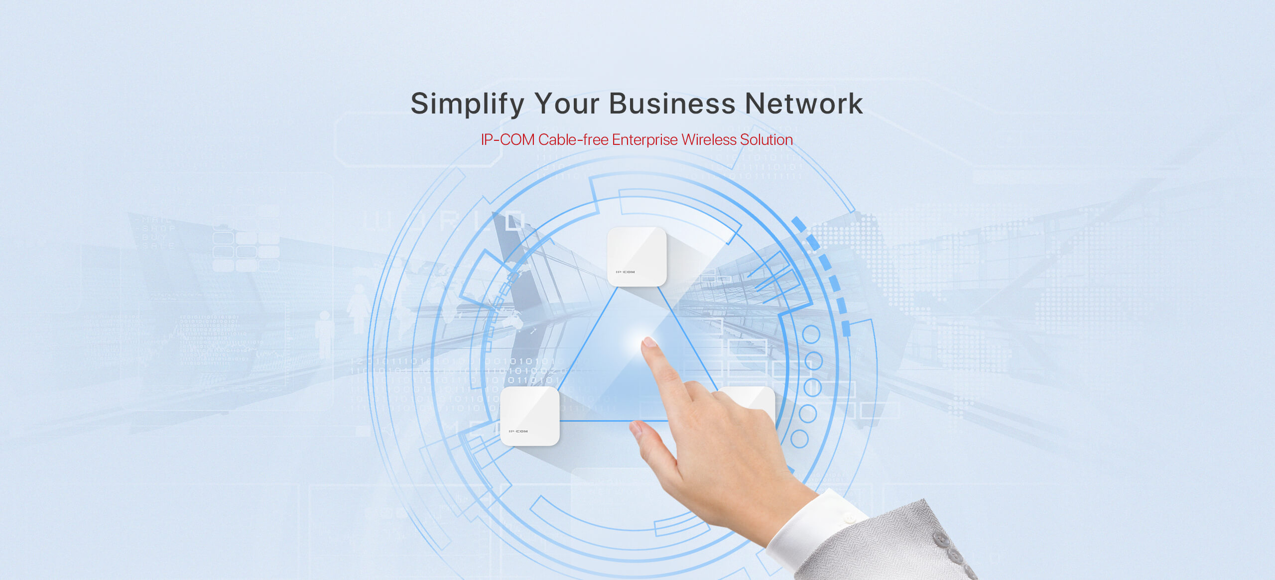 Ip Com World Wide Wireless A Diagram For Business